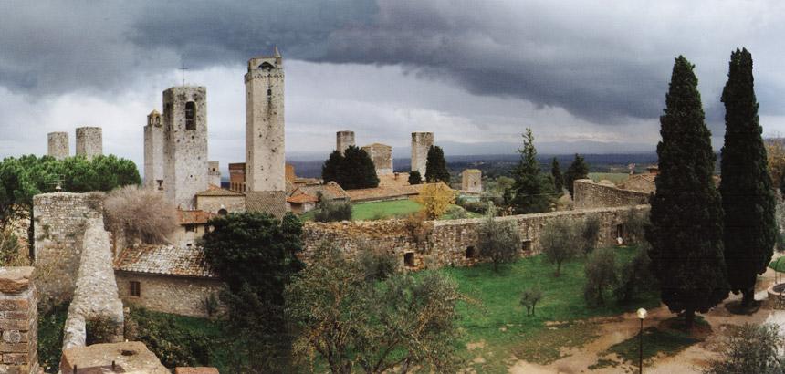 Le Mura Di San Gimignano San Gimignano Siena Italia Guicciardini Magni Architetti Studio Associato