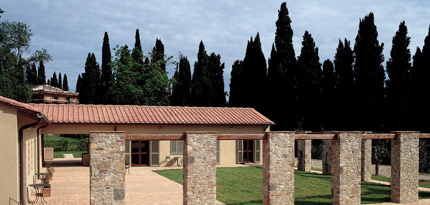 Nella Campagna Fiorentina Montespertoli Firenze Italia